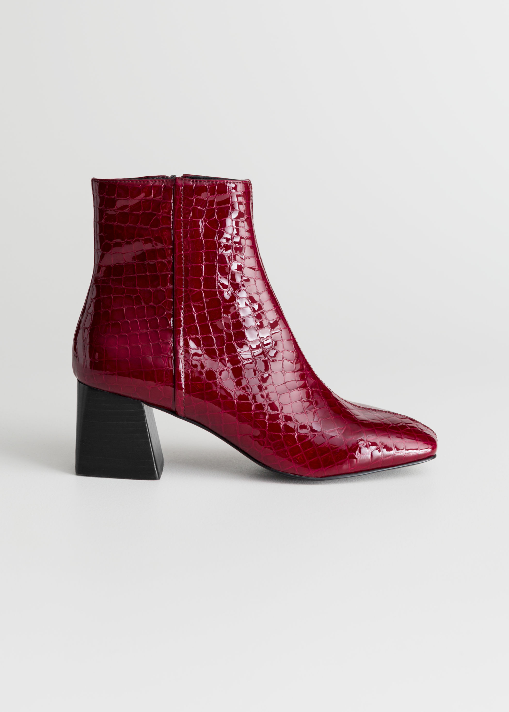 & Other Stories Crocodile Boots