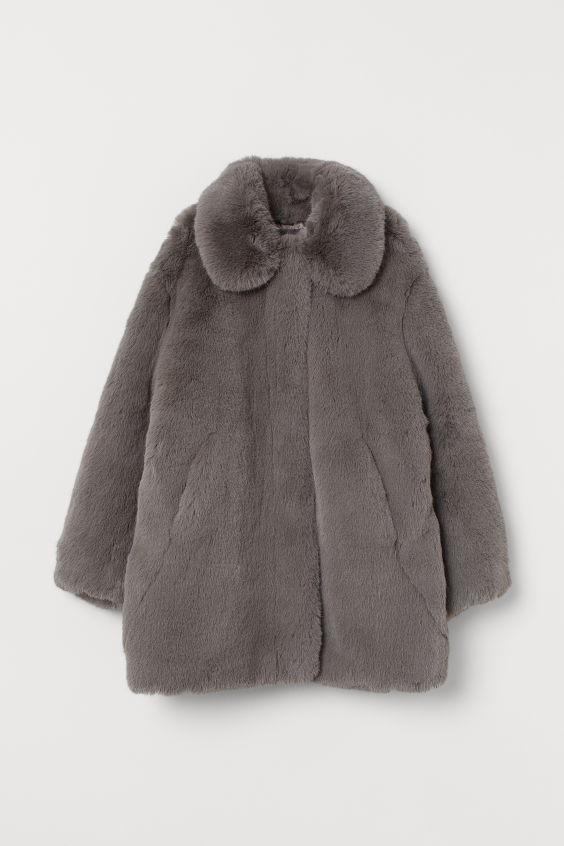 Coat: Topshop