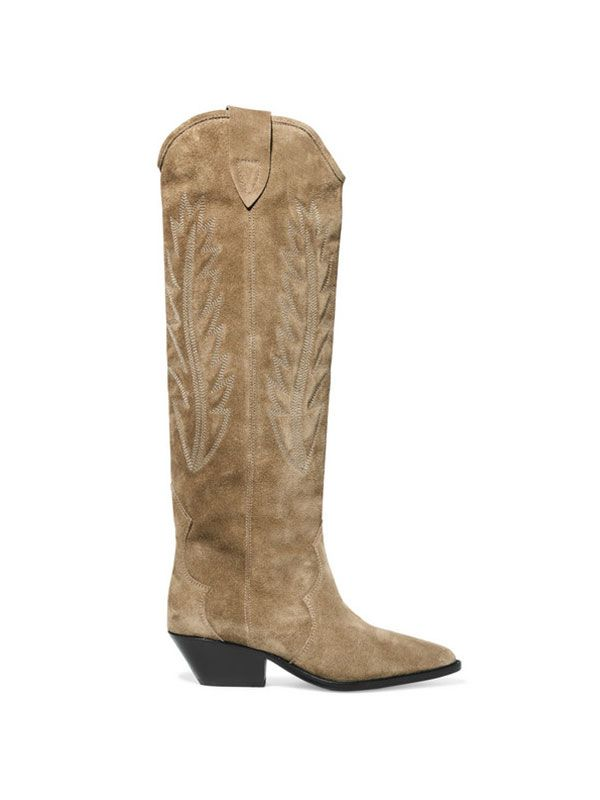 Isabel Marant Long Suede Boots