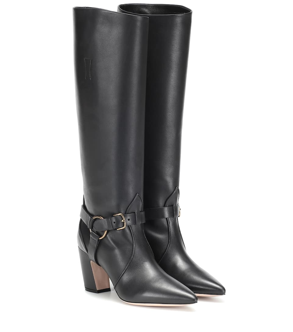 Miu Miu Long Black Boots