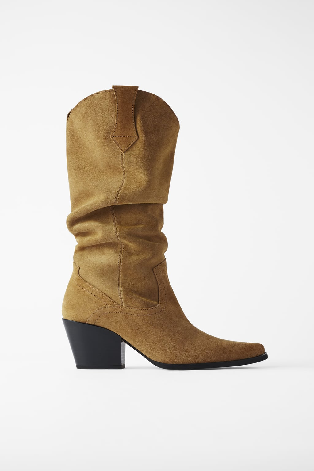 Zara Long Cowboy Boots
