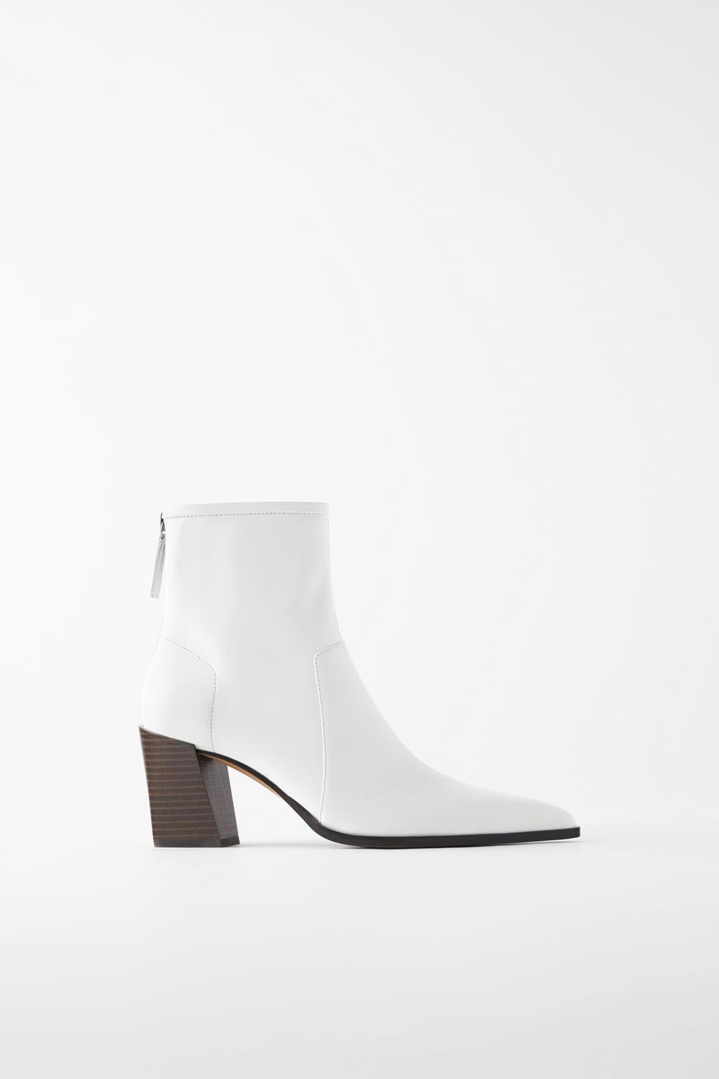 White Zara Boots