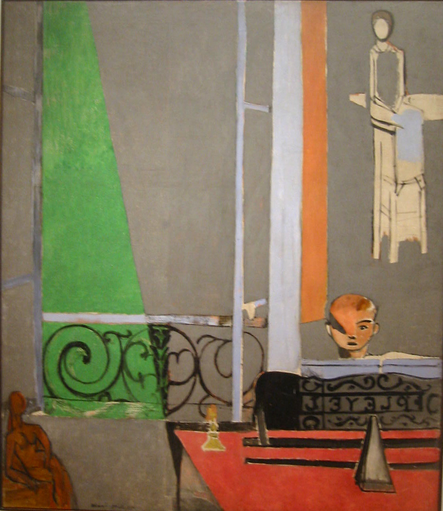 1916-Henri Matisse-The Piano Lesson