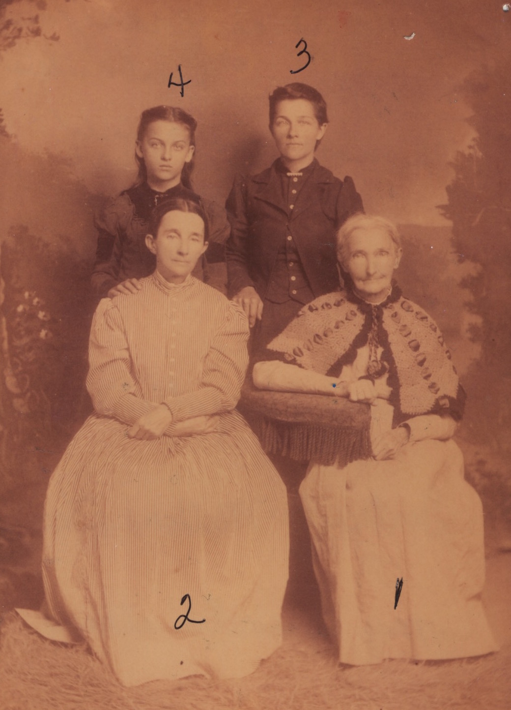 Members from the local school and church community. Mary Jane Bransford(1) was a teacher in the school.