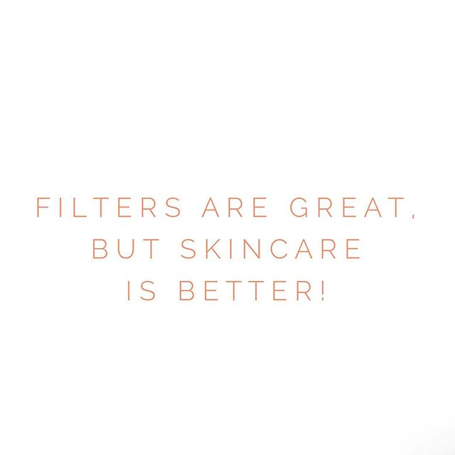 """Enhance your filters by enhancing your skin and skincare regimen!  It's your largest organ and man does it taking a beating from the outside elements and all the things we do to it! . As I always say, """"if you have skin, you should have a skincare therapist!"""" . So what are you waiting for invest in the one investment that will actually say, """"T H A N K Y O U!"""""""