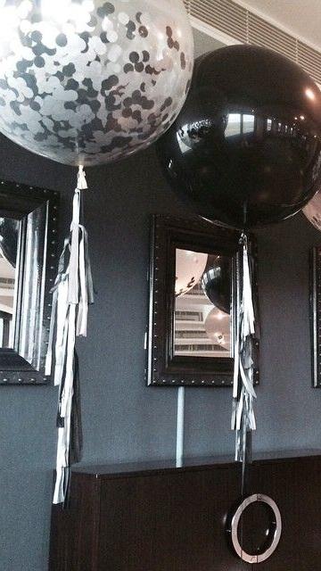 Luxe Grand Balloon - 3 ft Helium Balloon with TasselsStarts at $59 each