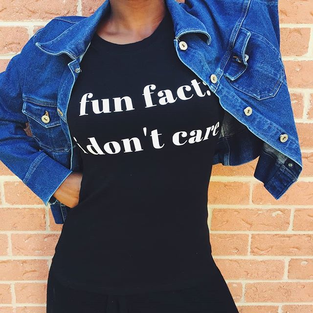 Wish you could tell your boss how you really feel? Wanna give your ex that won't leave you alone a clear message? Let this shirt do the talking for you. Get your sassy shirt today. . . . . . . . . . . . . . . . . . . . #idontcare #tshirt #graphictees #handmade #shirt #formyex #sassy #beincontrol #ilovethis #womenshirt #ootd #bebrave #speakyourmind #bossbabe #kw #kwawesome #kitchener #waterloo #guelph #kitchenerboutique