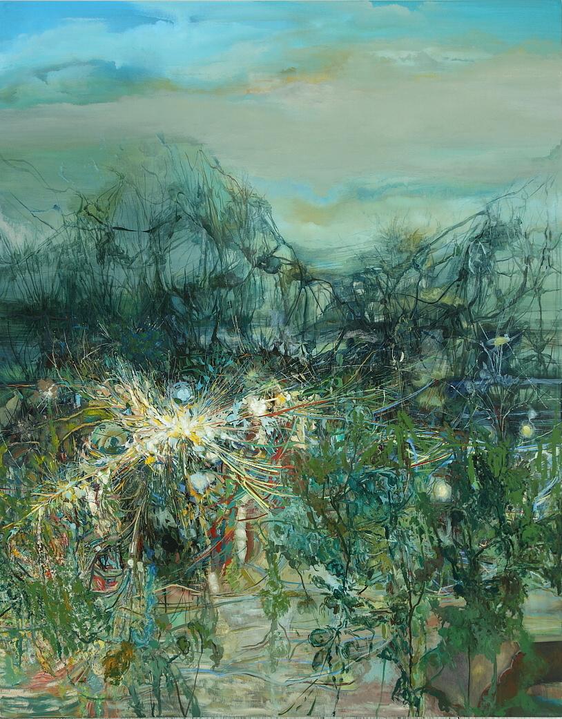 8. Rewilding, 2012, 84 x 66, acryllic on canvas.JPG