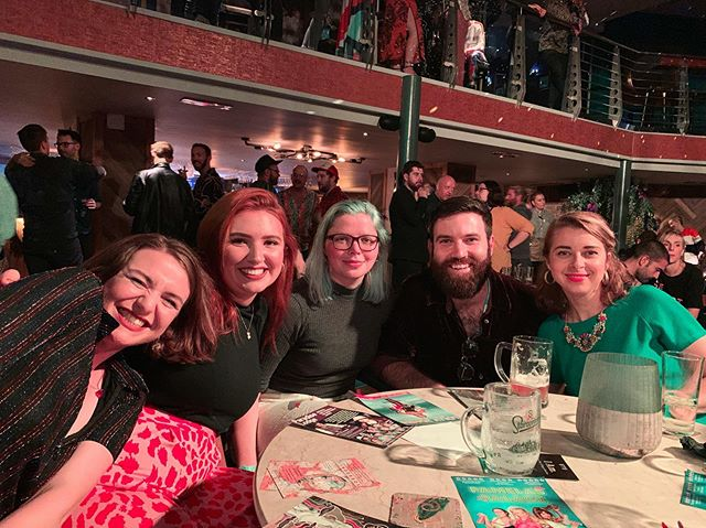 So lovely to be at the @edfestmag launch party last night. What a blast! And always a bloody pleasure to see our pals @thewardrobeensemble 🎉 We are very excited to be watching their show The Last of the Pelican Daughters tomorrow at 4:40pm at Pleasance Beyond 🐣 @edfringe @sweetvenues @thepleasance