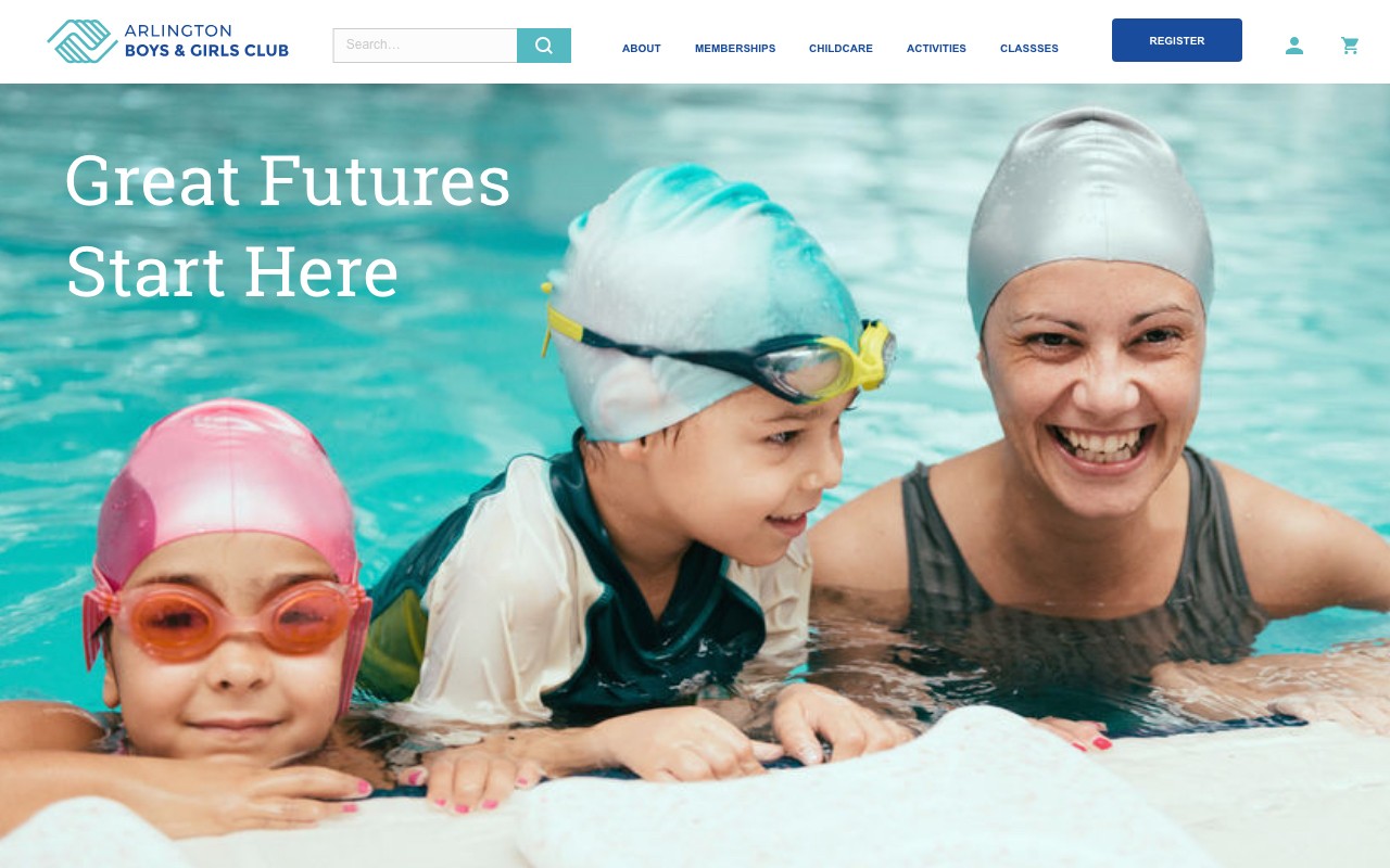 UX Case Study - A redesign of the Arlington Boys and Girls Club site focusing on the registration process
