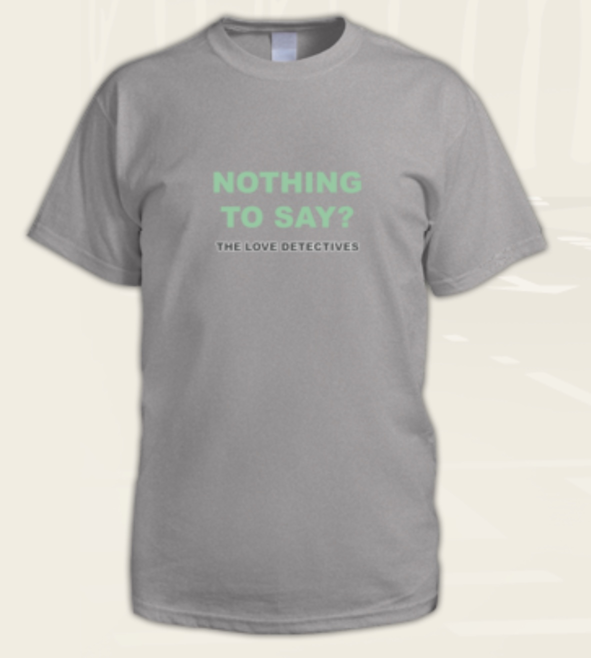 Nothing to Say T shirt.jpeg