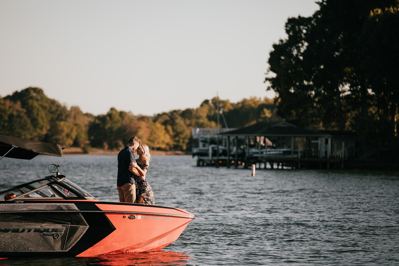 Smith Mountain Lake - Engagement - Virginia - Weddings - Wedding Photographer - Pat Cori Photography-2.jpg