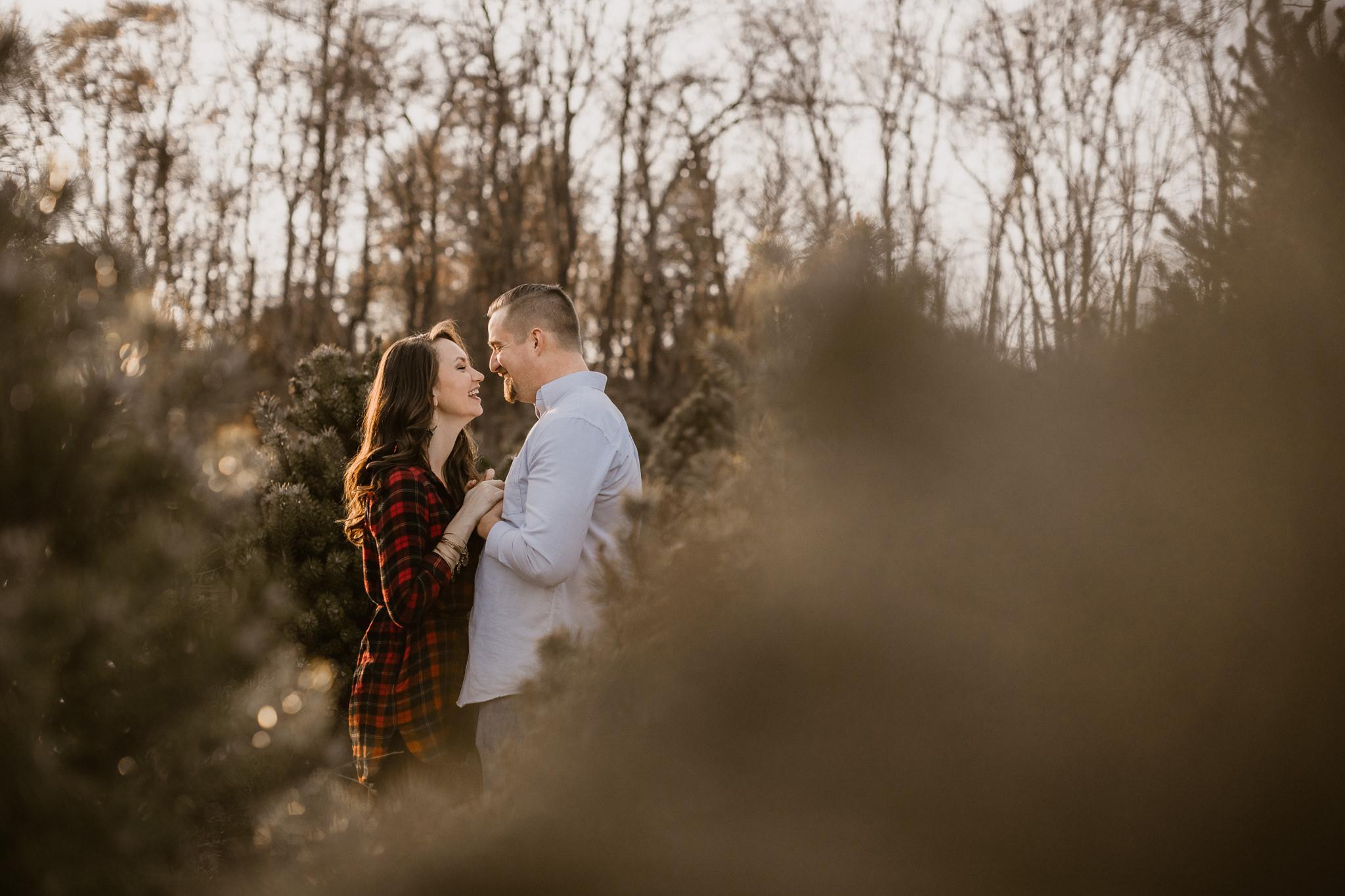 Engagement - Tree picking - Wedding Photographer - Virginia - Best - Pat Cori Photography-8.jpg