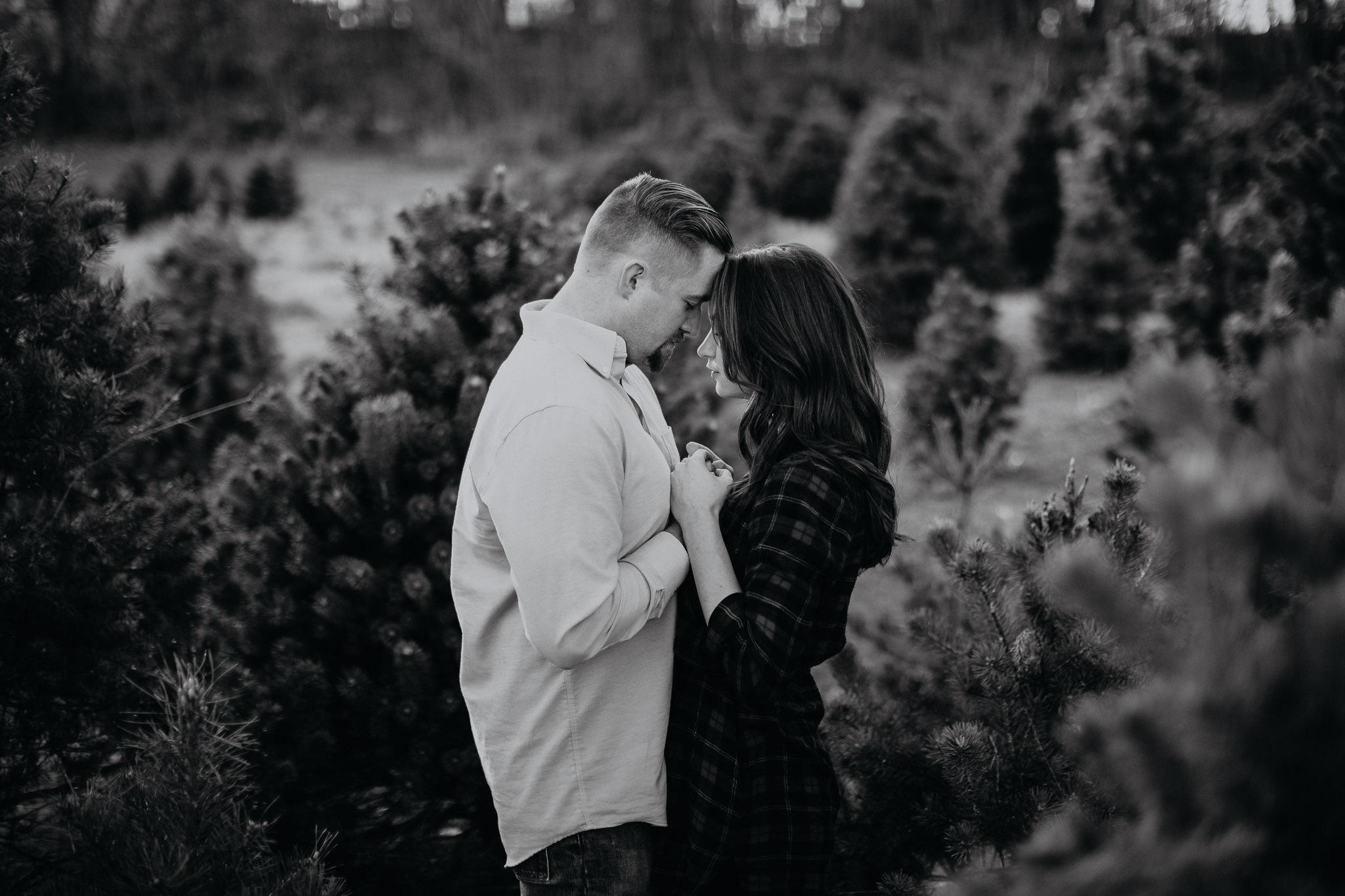 Engagement - Tree picking - Wedding Photographer - Virginia - Best - Pat Cori Photography-14.jpg