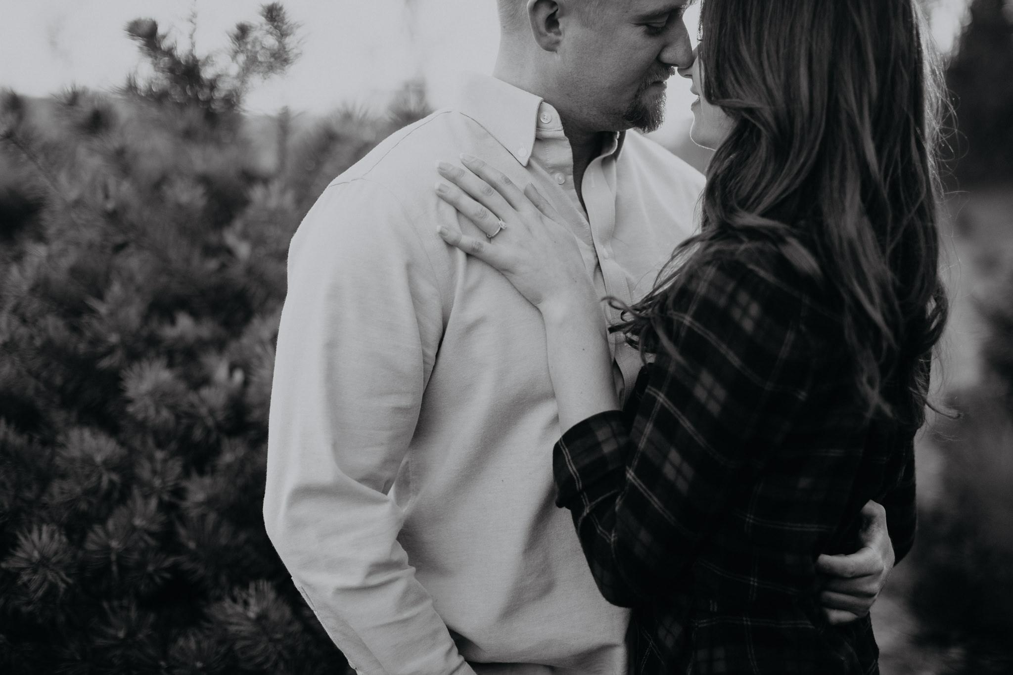 Engagement - Tree picking - Wedding Photographer - Virginia - Best - Pat Cori Photography-28.jpg