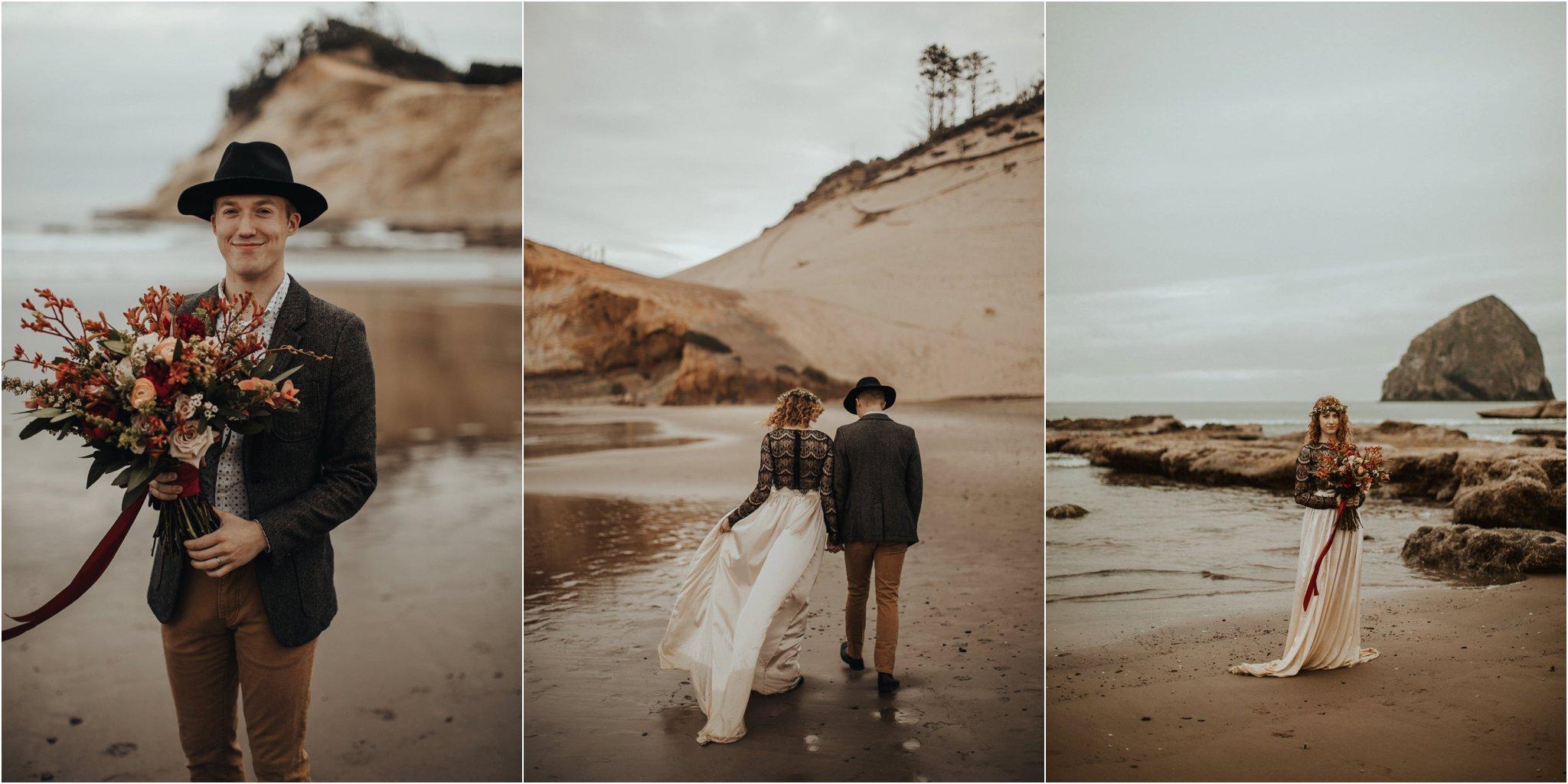 Cape Kiwanda - Elopement - Oregon - Wedding Photographer - Pat Cori Photography-91.jpg