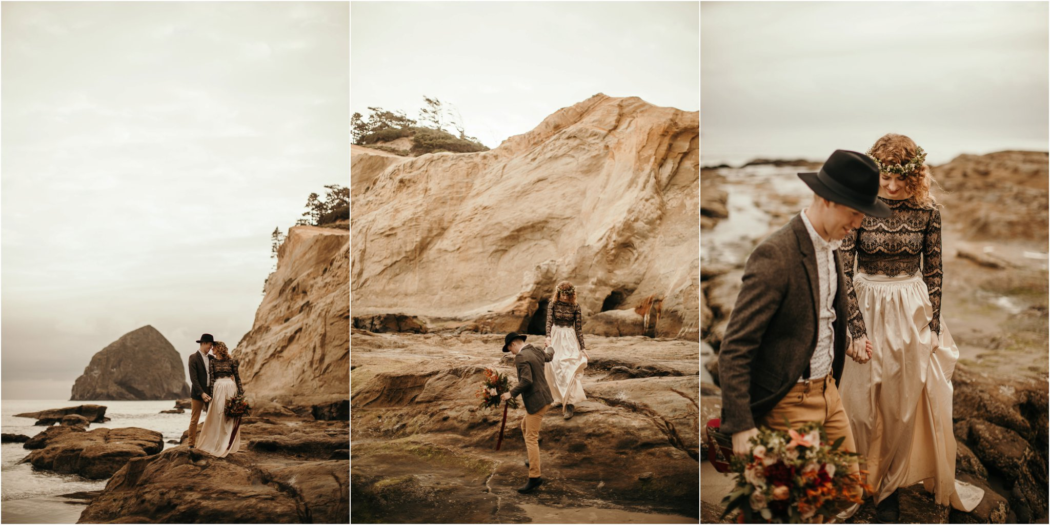 Cape Kiwanda - Elopement - Oregon - Wedding Photographer - Pat Cori Photography-32.jpg