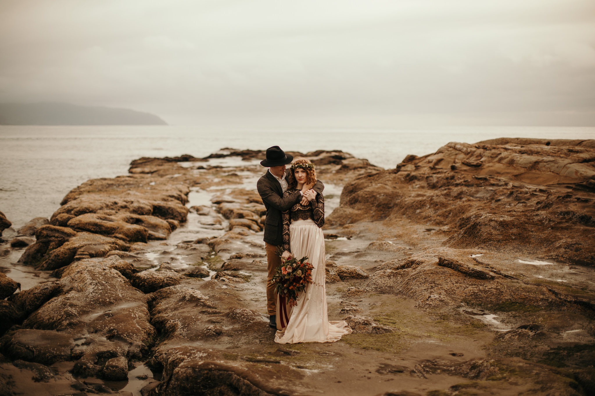 Cape Kiwanda - Elopement - Oregon - Wedding Photographer - Pat C