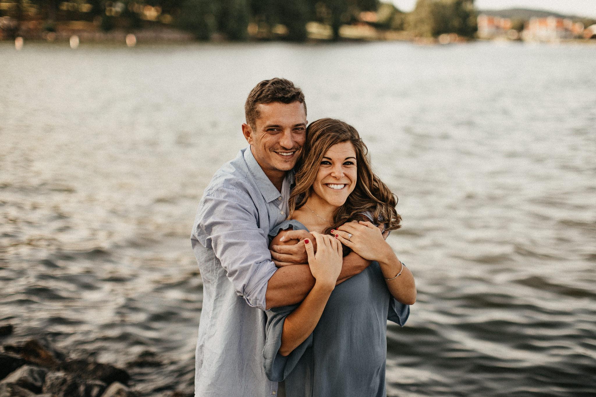 Claytor Lake State Park - Engagement portraits - Virginia wedding photographer - Pat Cori Photography-21.jpg