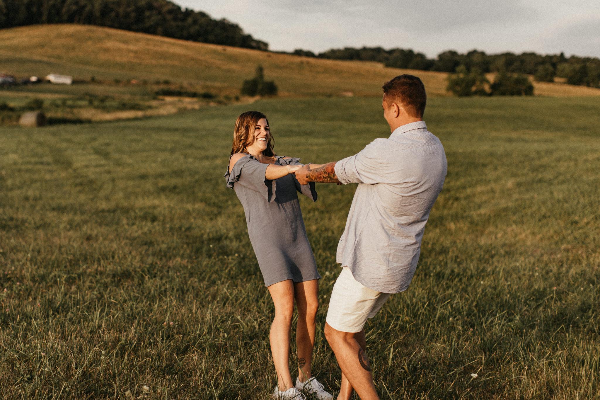 Claytor Lake State Park - Engagement portraits - Virginia wedding photographer - Pat Cori Photography-36.jpg