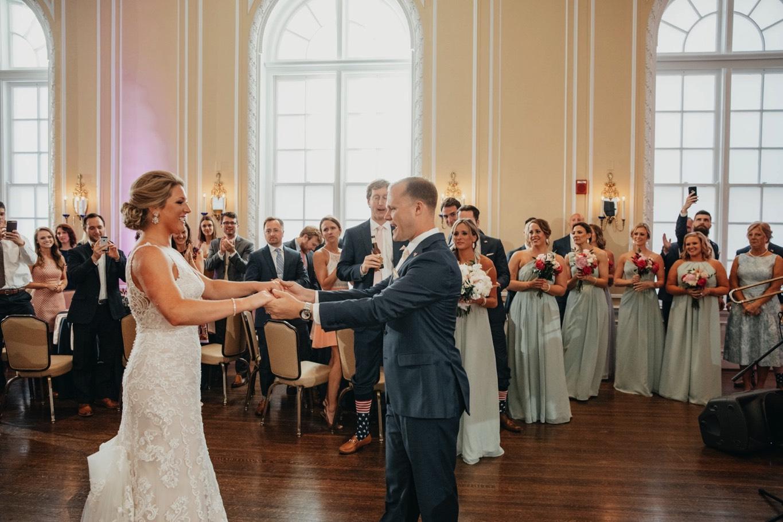 Patrick Henry Ballroom - First Dance - Pat Cori Photography