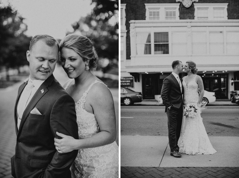 wedding pictures - downtown Roanoke