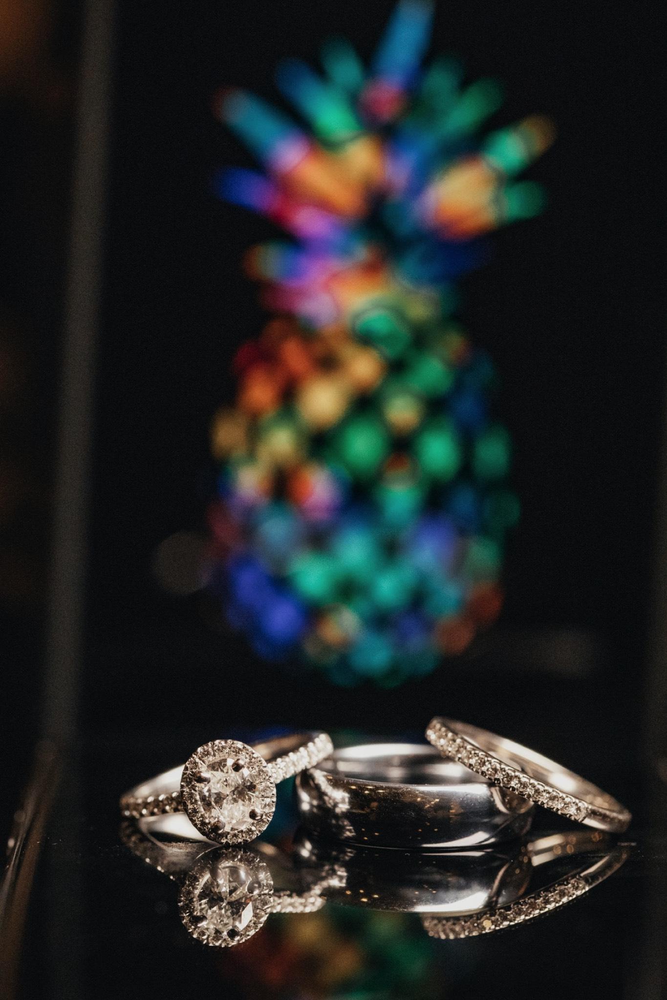 Patrick Henry Ballroom - Ring pictures - Pineapple - Pat Cori Photography