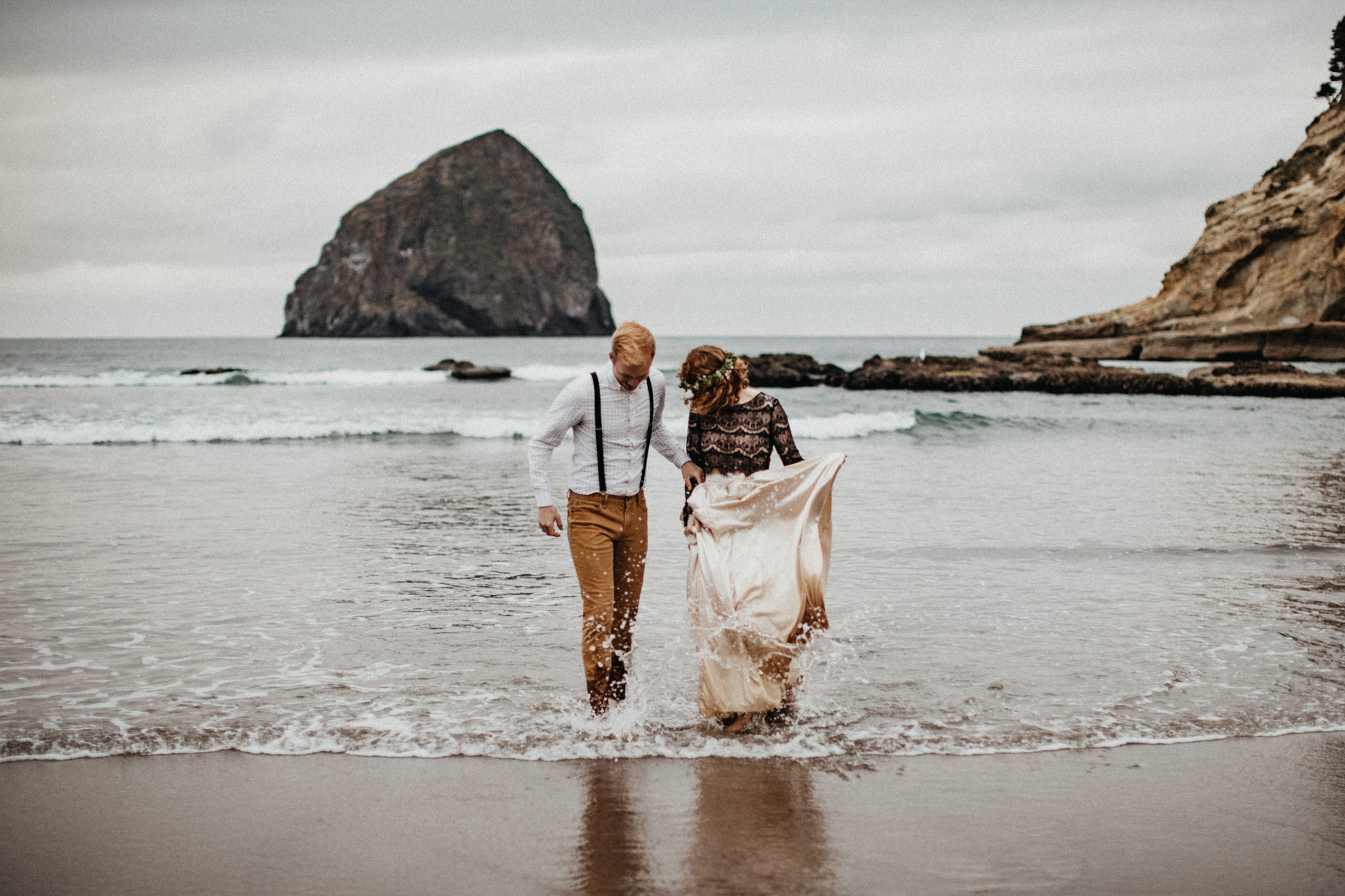 Cape Kiwanda - Elopement - Oregon - Wedding Photographer - Pat C
