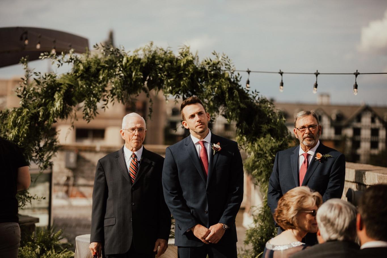 41_The Penthouse - Pat Cori Photography - Virginia Wedding Photographer-86_Wedding_Ceremony_PatCoriPhotography_roanoke_rooftop_thepenthouse.jpg