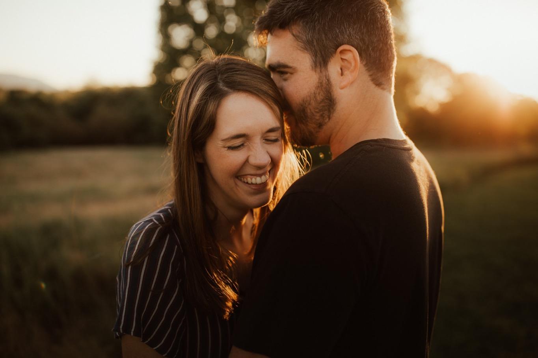 16_Roanoke Engagement Photographer - Pat Cori-29_Portraits_Virginia_romantic_roanoke_Parkway_Sunset_Engagement.jpg