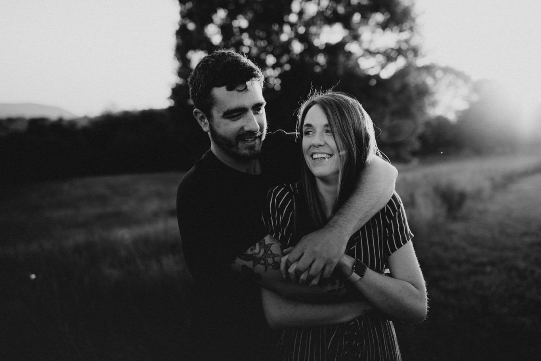 19_Roanoke Engagement Photographer - Pat Cori-34_Portraits_Virginia_romantic_roanoke_Parkway_Sunset_Engagement.jpg