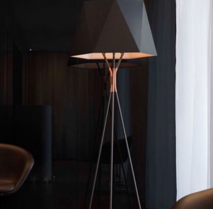 5. Floor Lamps ~ photo via USONA - Lighting is hands down one of the most important features in every room. The right floor lamp can become a focal point in your design especially with all the amazing options out there!