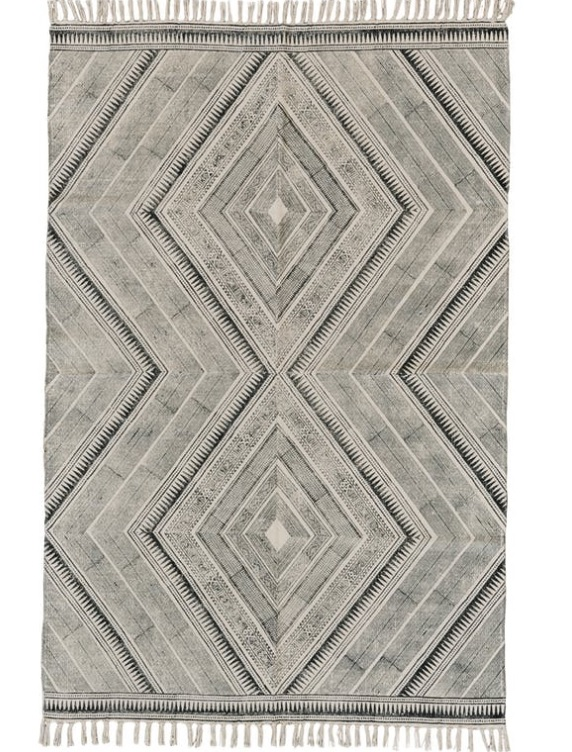 Roll em' up… - Say goodbye to your fluffy area rugs and allow your hardwood floors to shine! Switch to smaller (2x3) and easy to clean throw rugs. We love this one by Walter E. Smithe FurnitureDesign!