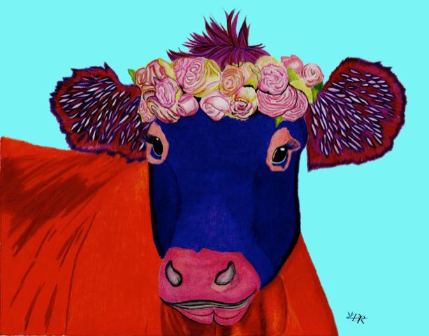 Deborah-Roberts_Cow-CP_lt-blue.jpg