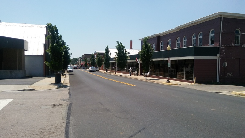 How do you see your community? This is looking down Main Street in Blackstone where i live. It is a very small town.