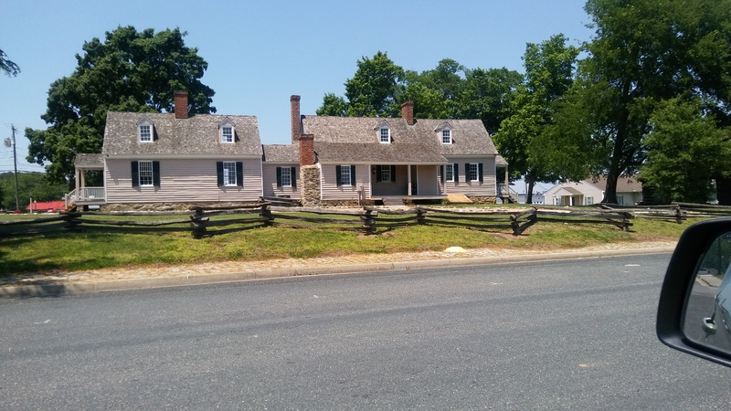 Schwartz tavern, the  oldest building in Blackstone and one of the taverns that gave the town its original name, Black's and White's (there was at one time a tavern opposite this one owned by someone with the last name of White)