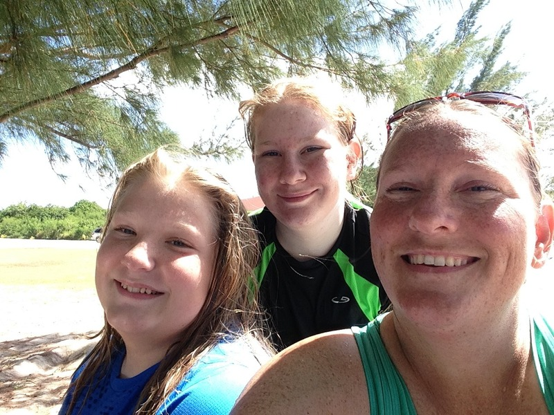 How do you see your self? My kids and I on vacation in 2015. Being their mom tops my list of self and identity.