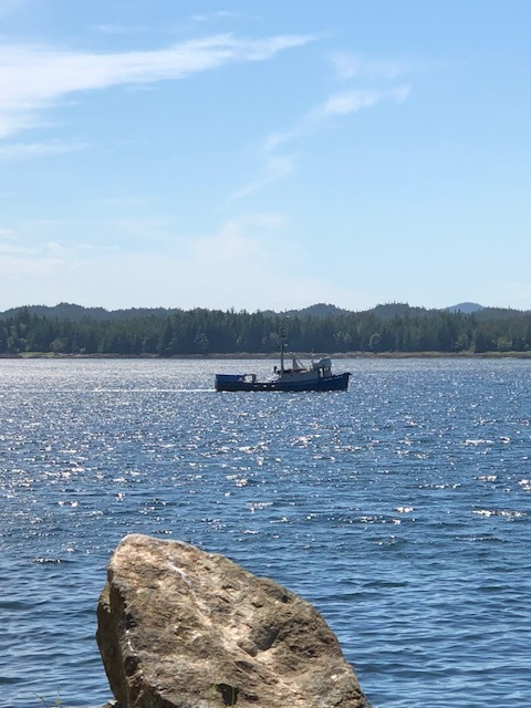 Fishing boat in the Tongass Narrows.