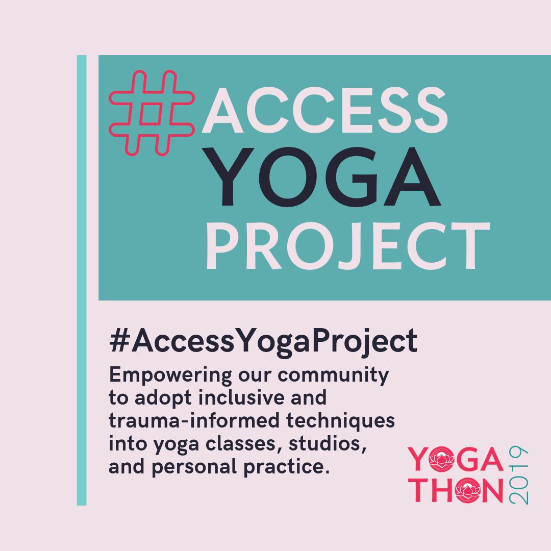 Living Yoga's Access Yoga Project, Yogathon 2019