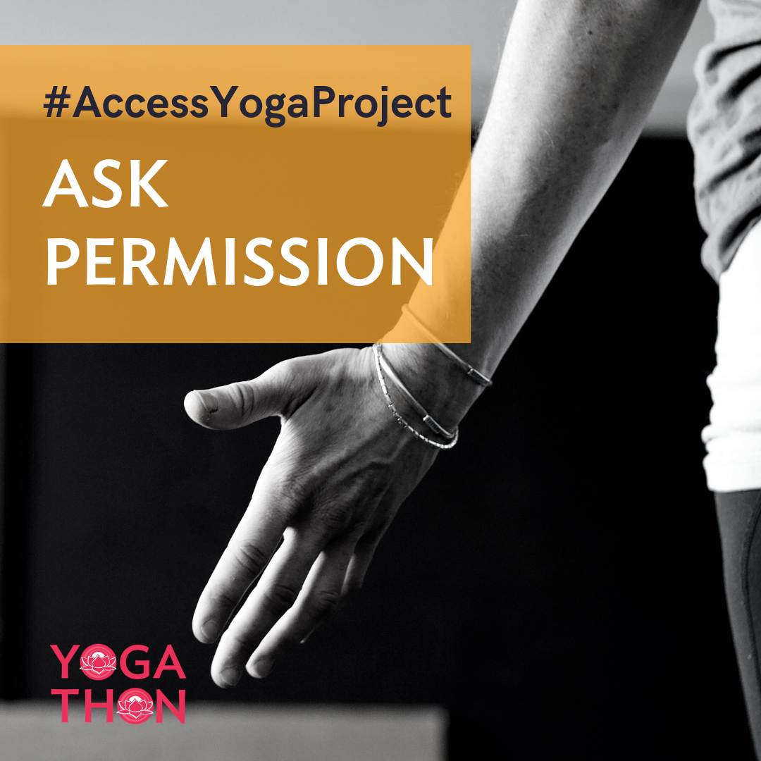Week 3: ASK PERMISSION - TIP: Ask in more than one way, and remember that consent is ongoing.
