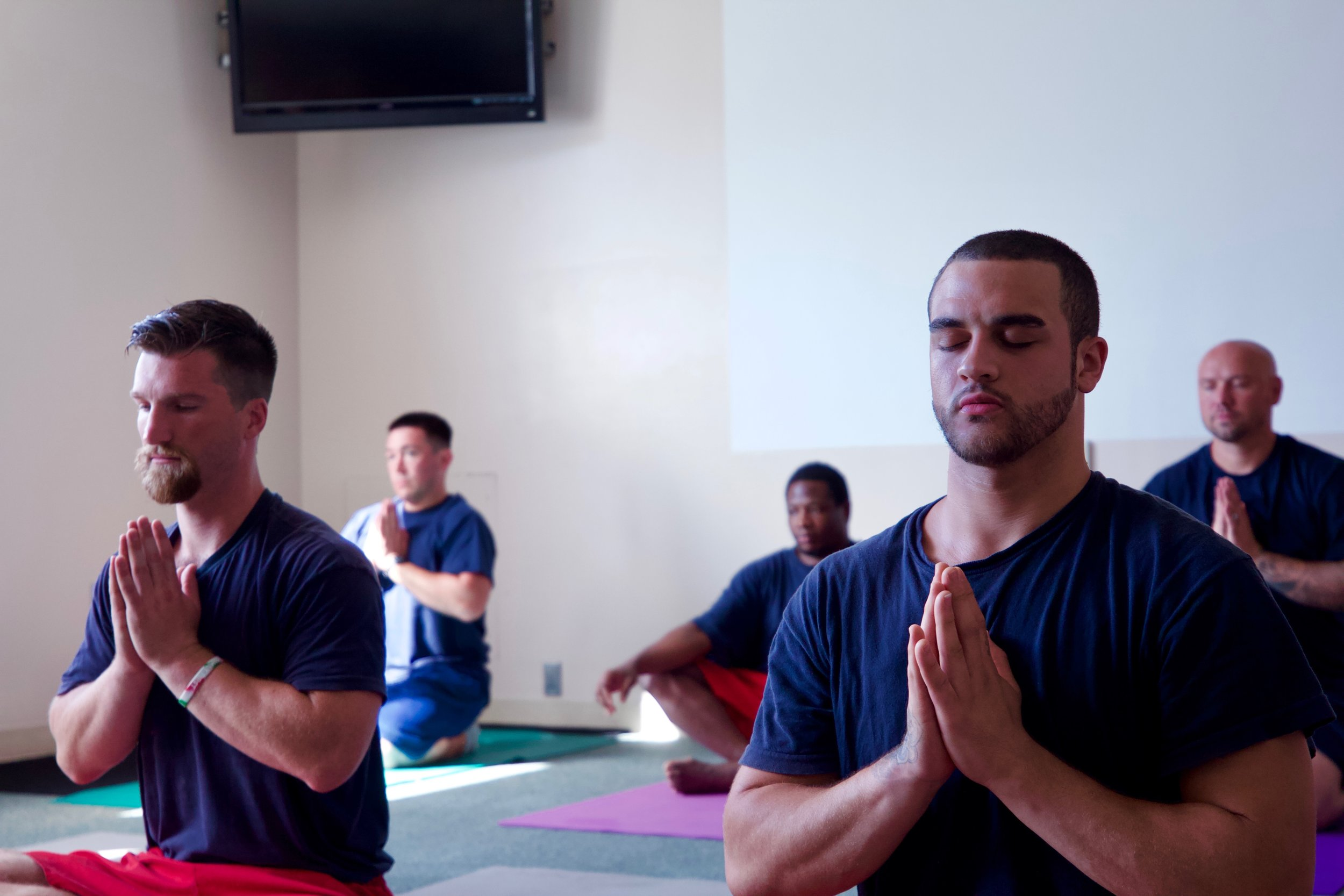 Living Yoga Class at Columbia River Correctional Institution