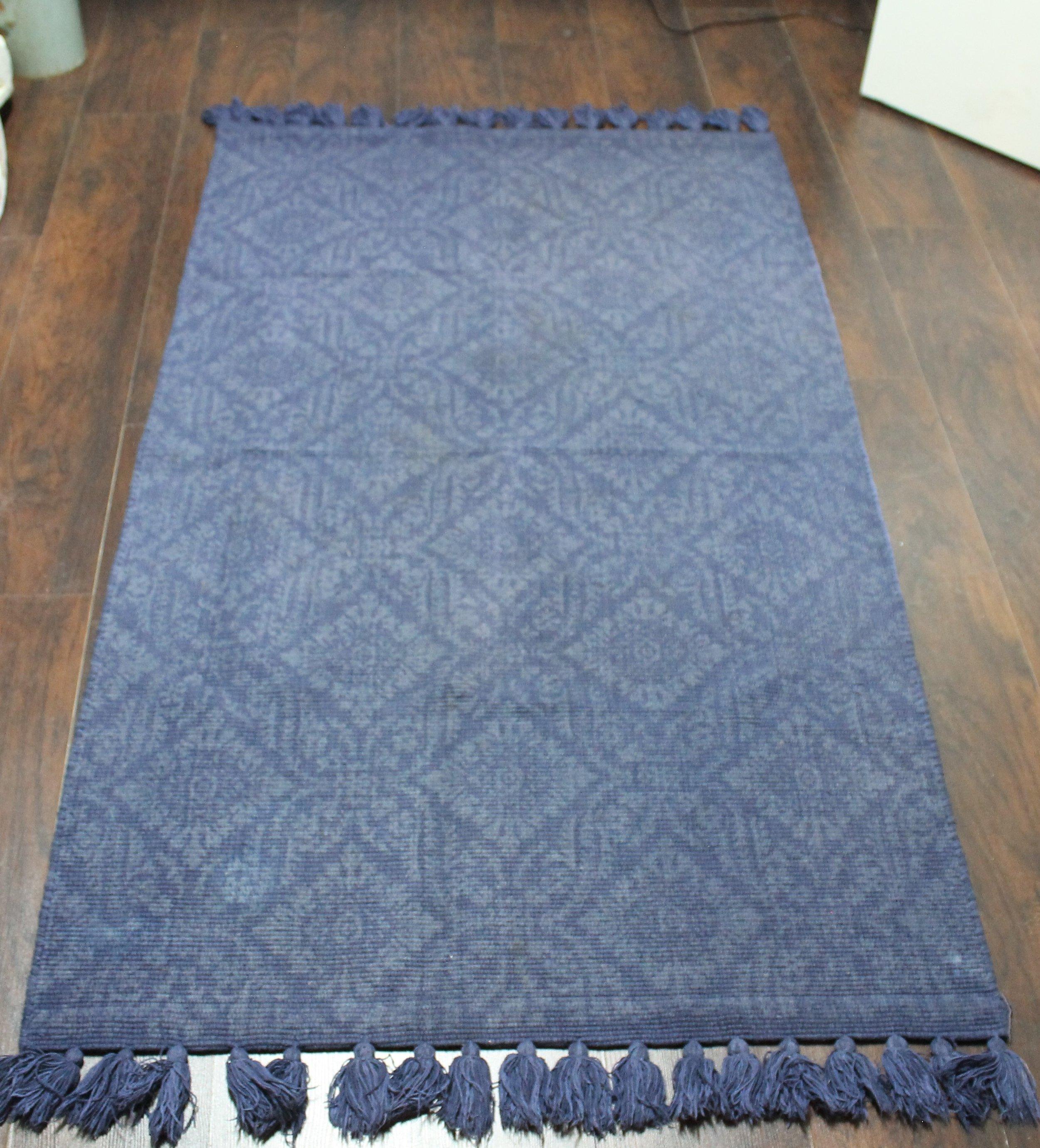MAT Blue Rug
