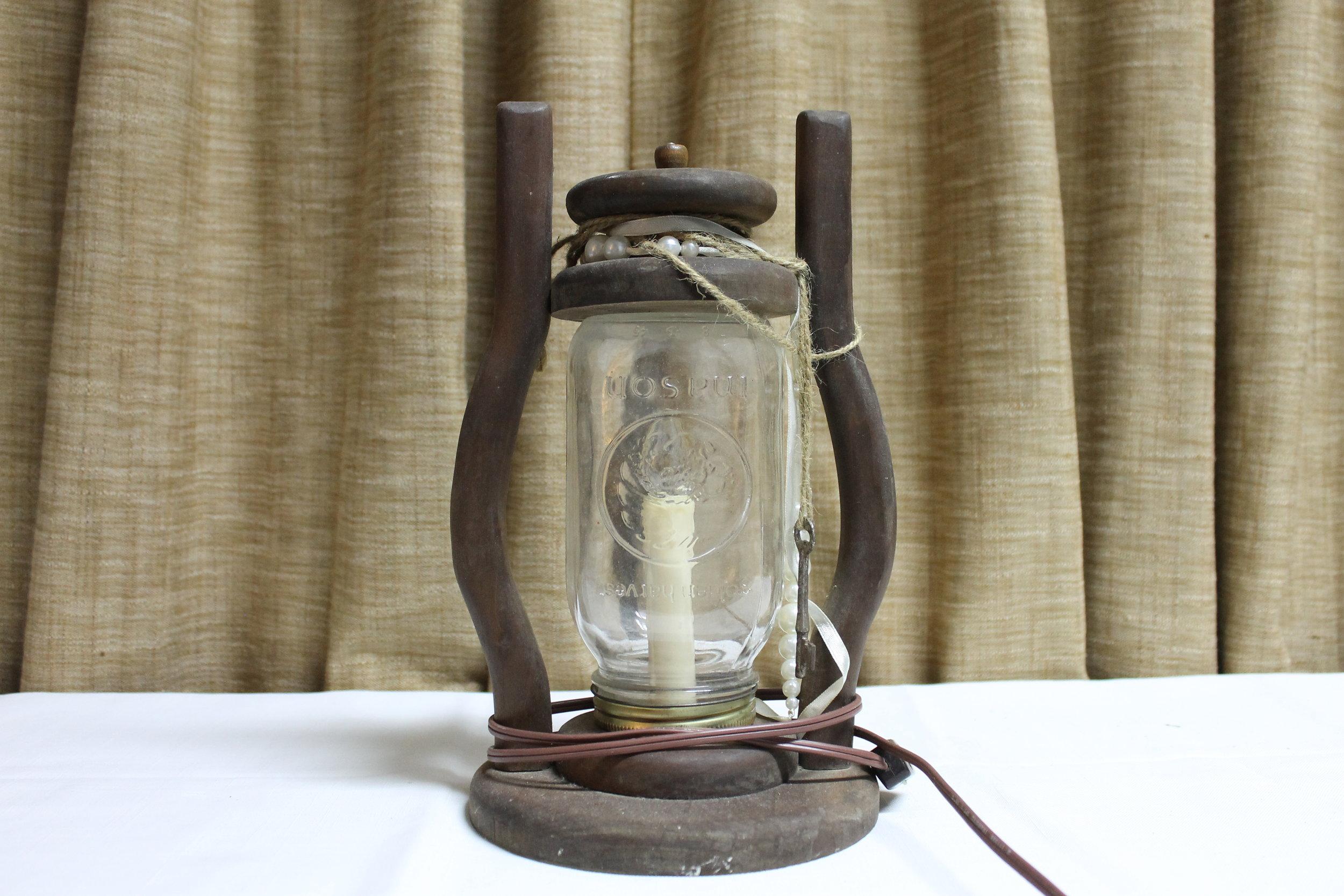 Antique Mason Jar Lantern
