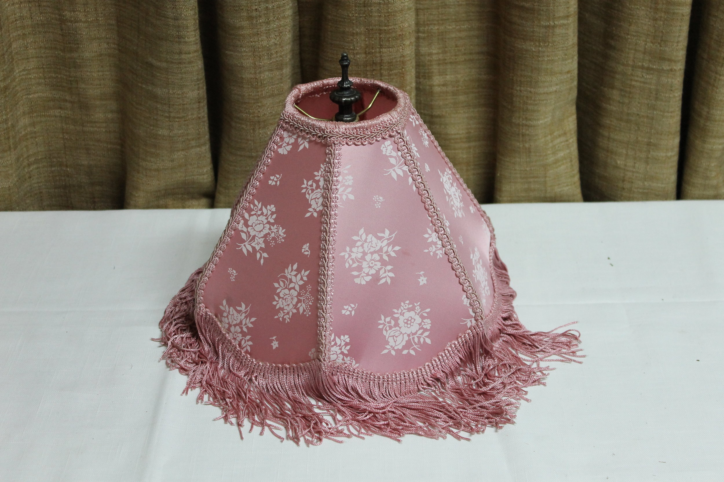 Pink Vintage Lamp Shade