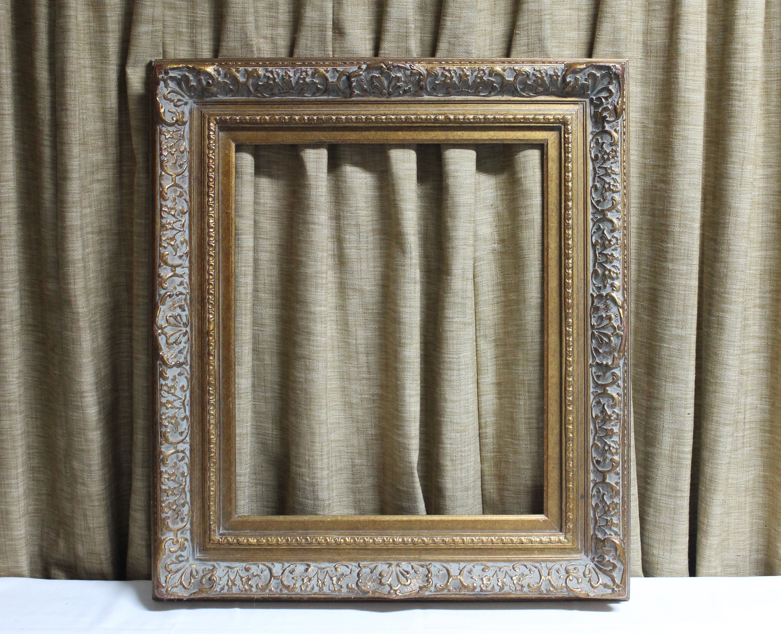 Julia: Ornate Gold Frame