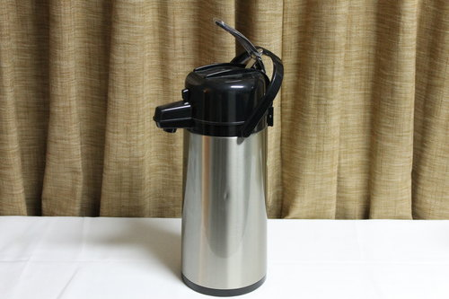 Silver Coffee Pump