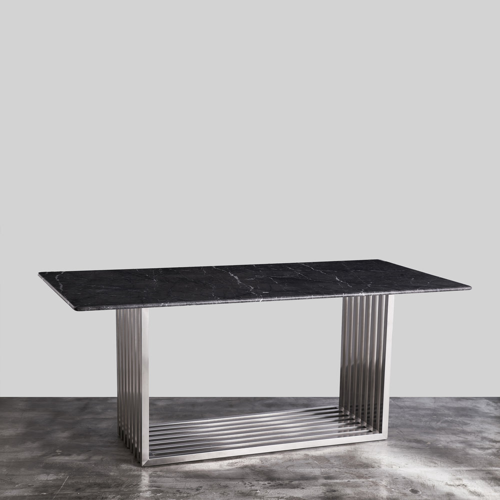 Dane Italian Marble Dining Table