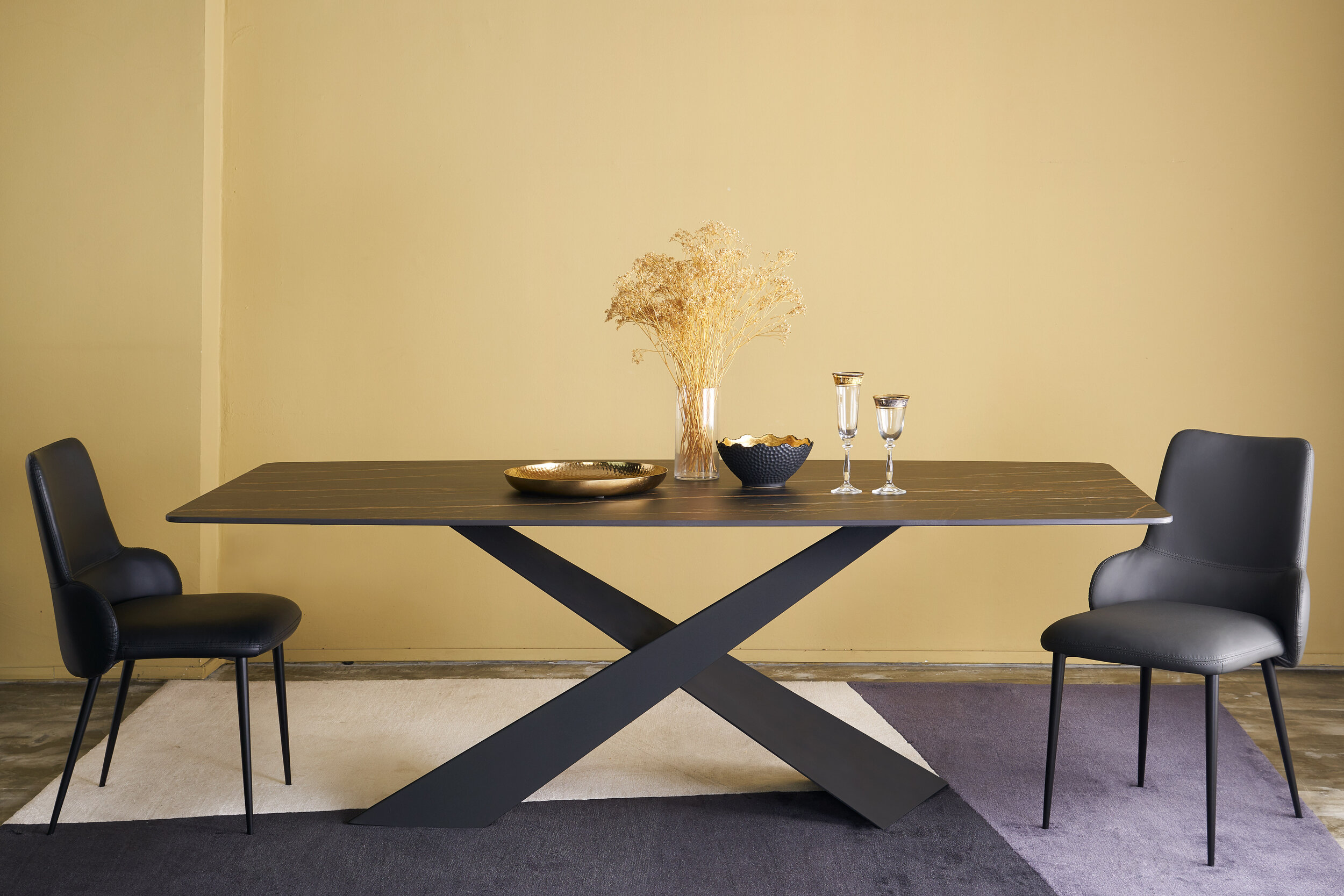Legend Italian Marble Dining Table