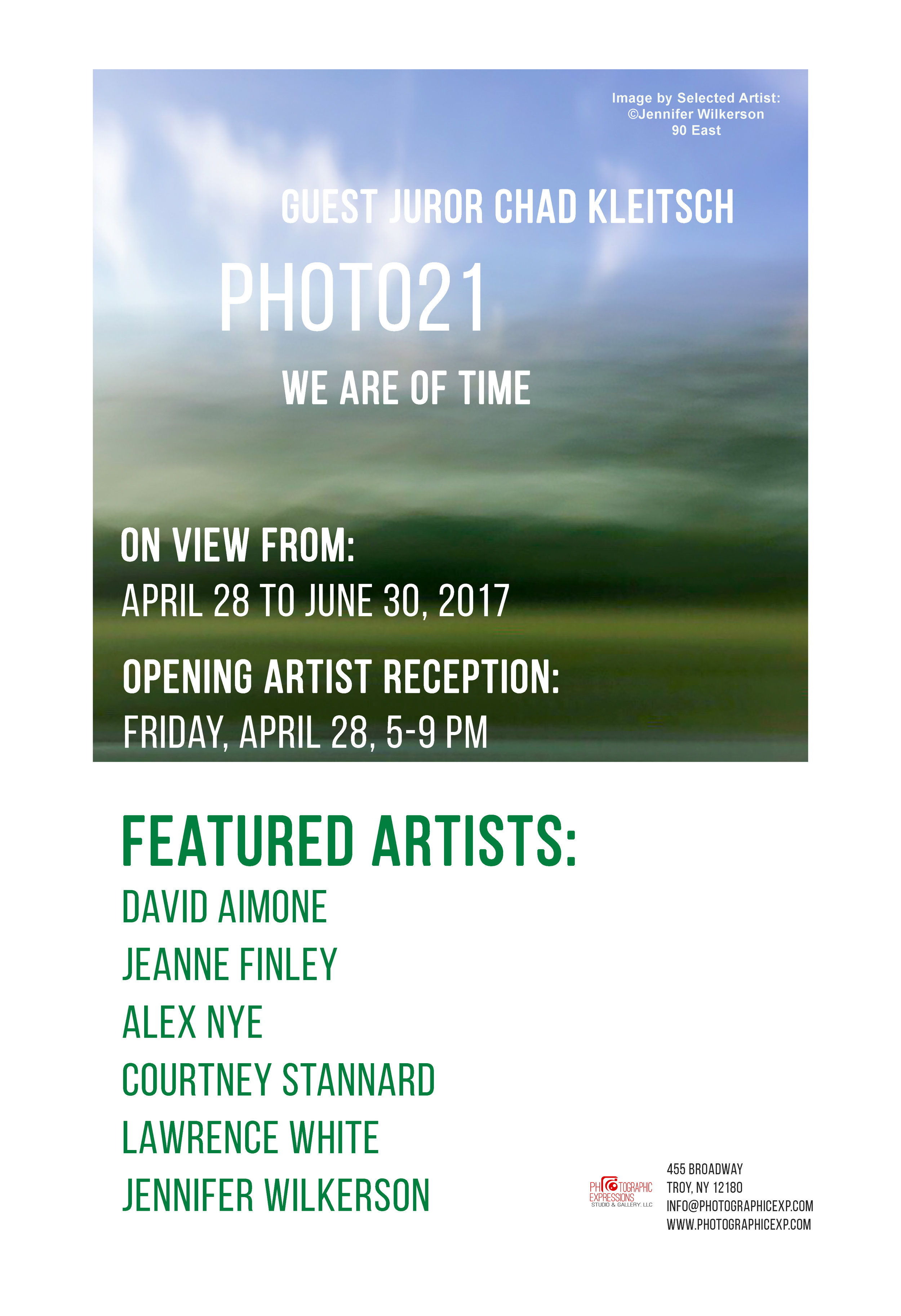 GROUP EXHIBITION: PHOTO21: WE ARE OF TIME