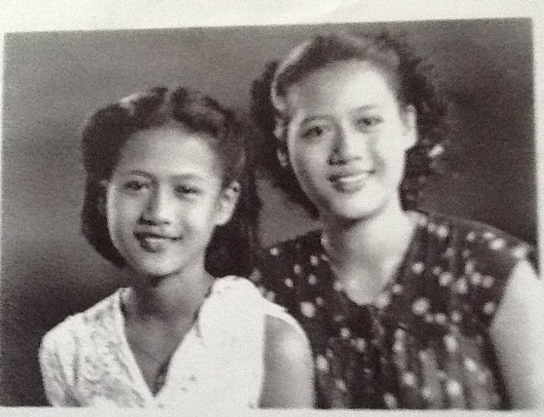 My late maternal grandma (left) and her oldest sister.